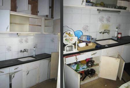 פינוי דירה לפני ואחרי