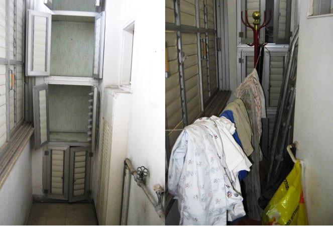 לפני ואחרי פינוי דירת נפטרים
