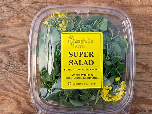 Super Salad (Immune Boosting!) Blend of sunflower, pea, and fava shoots!