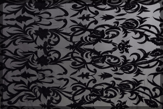 Black Embroidery pattern