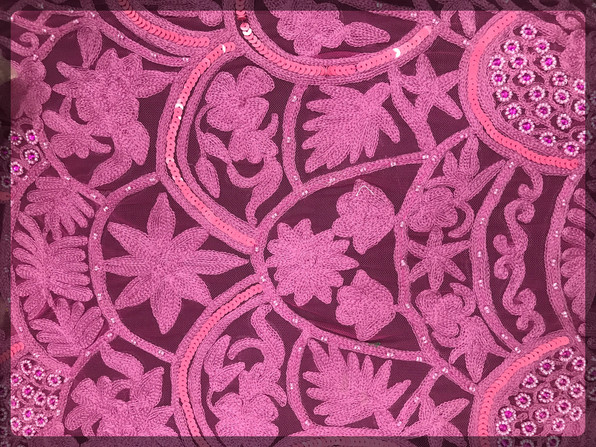 Couture embroidery