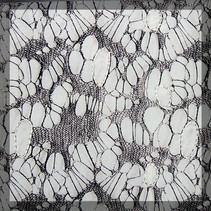 Net embroidered