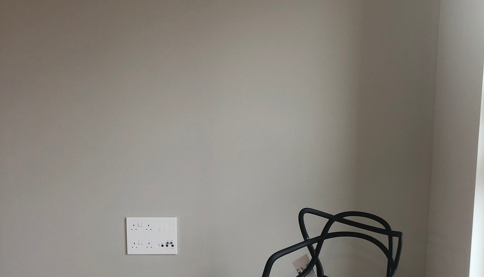 Room Painted inFarrow and Ball