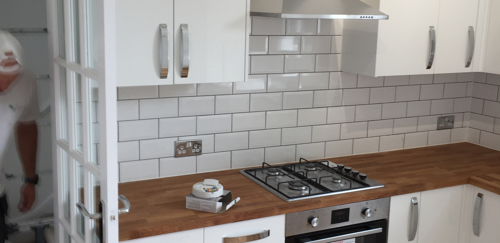 Kitchen tiled