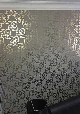 Wallpapering in London