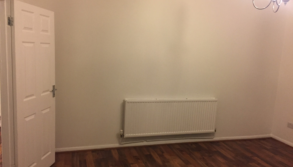 Painted room East London