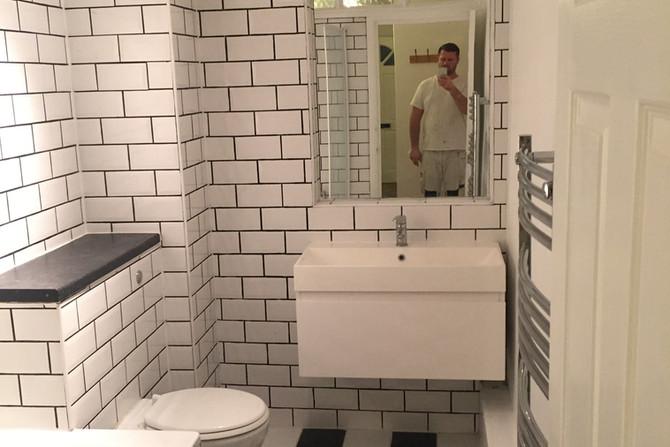 Bathroom tiling in Essex