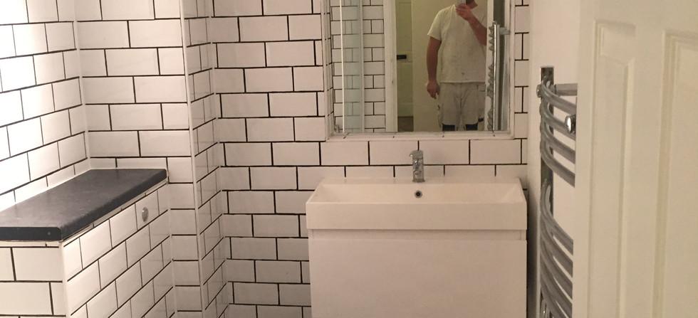 Bathroom tiling South London