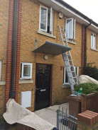 Exterior windows and front dors painting
