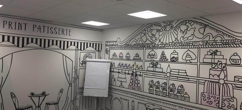Design wallpaper South London