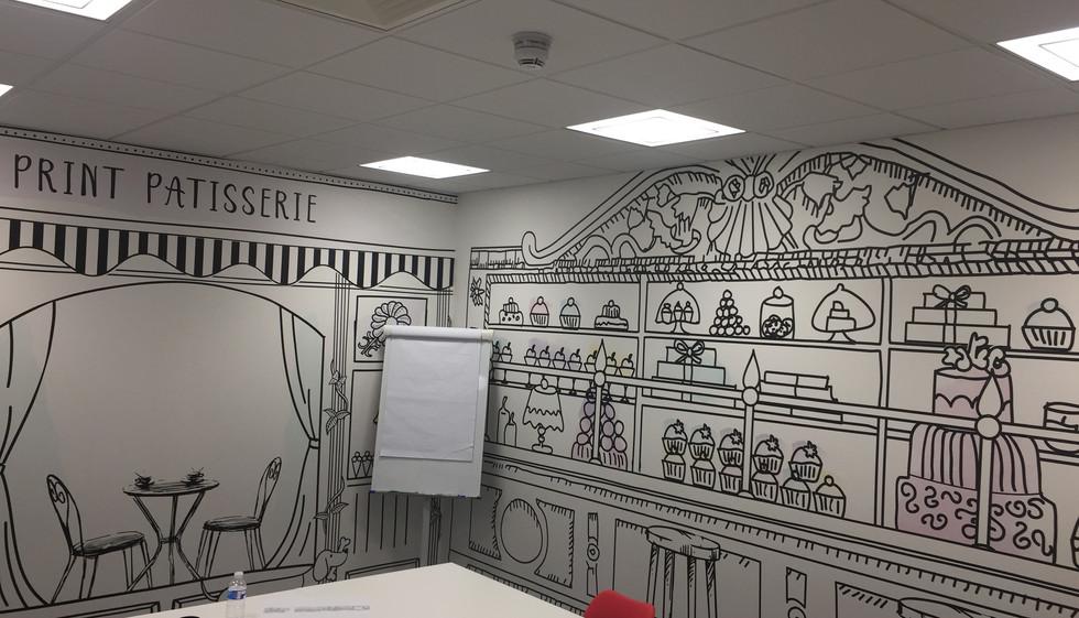 Design wallpaper East London