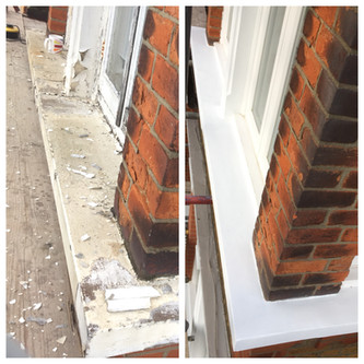 Exterior painting in South London