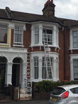 External painting in East London