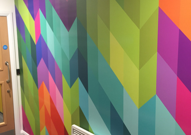 Interior Wallpaper hanging London