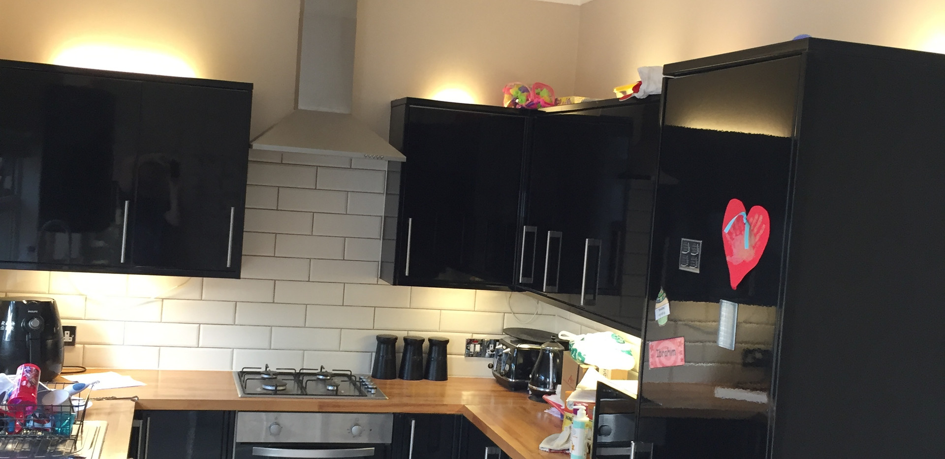 Kitchen decorating in East London - Barking