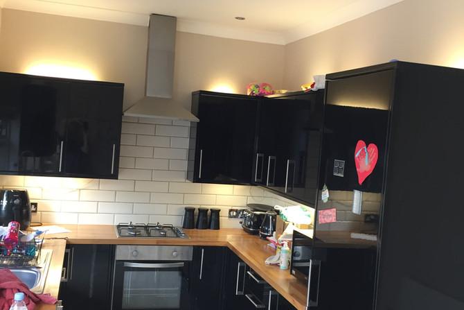 Kitchen decorating in Essex