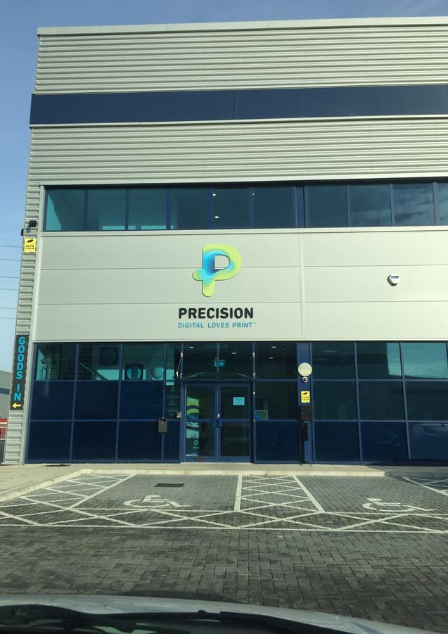Precision printing company in London