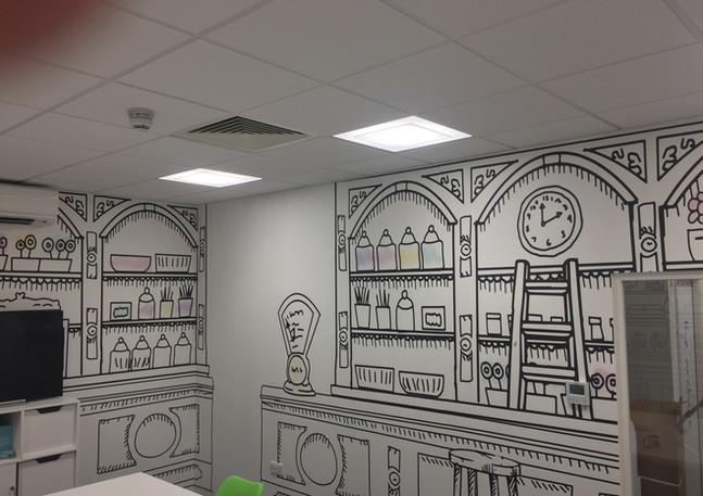 Wallpaper Hanging East Londo