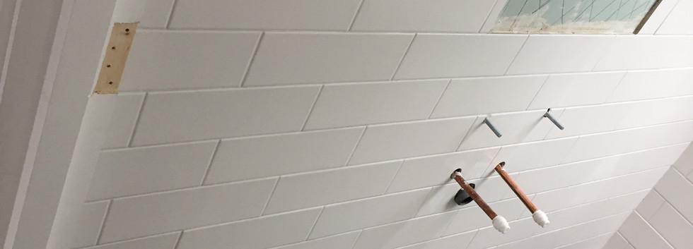 Shower room tiled East London
