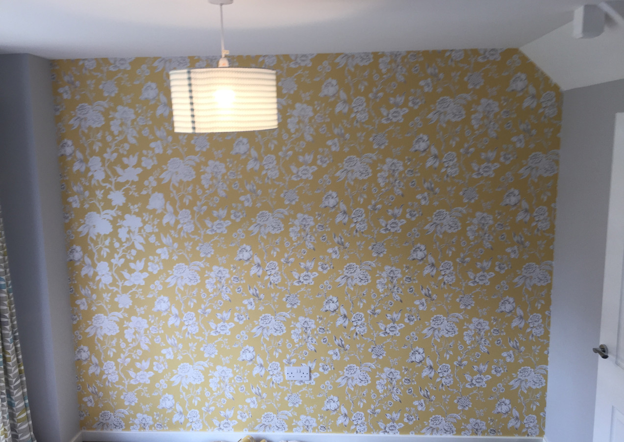 Wallpaper hanging in Grays
