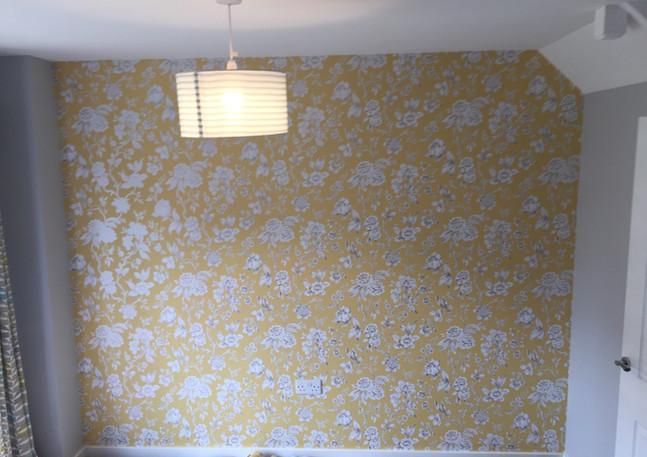 Wallpaper hanging in Grays