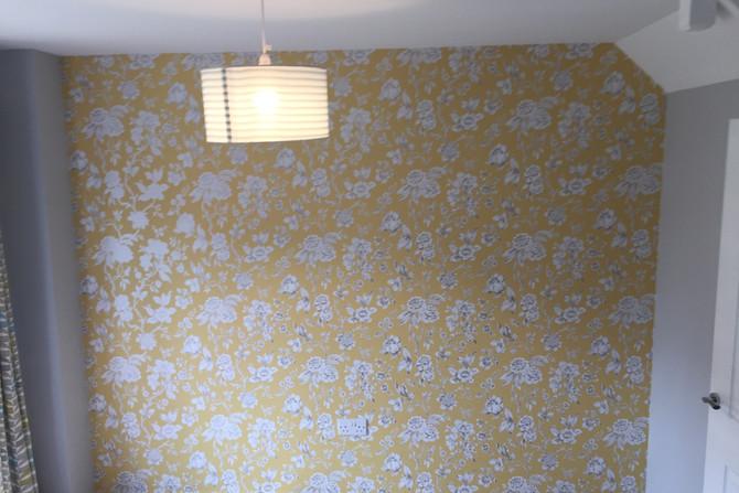 Wallpaper hanging in Grays, Essex