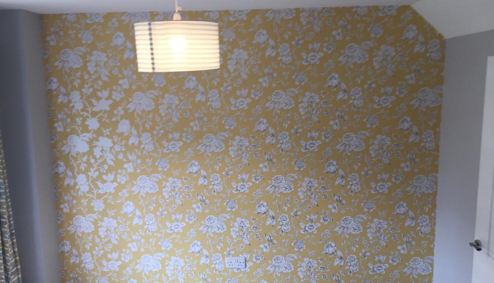 Wallpaper hanging in Barking