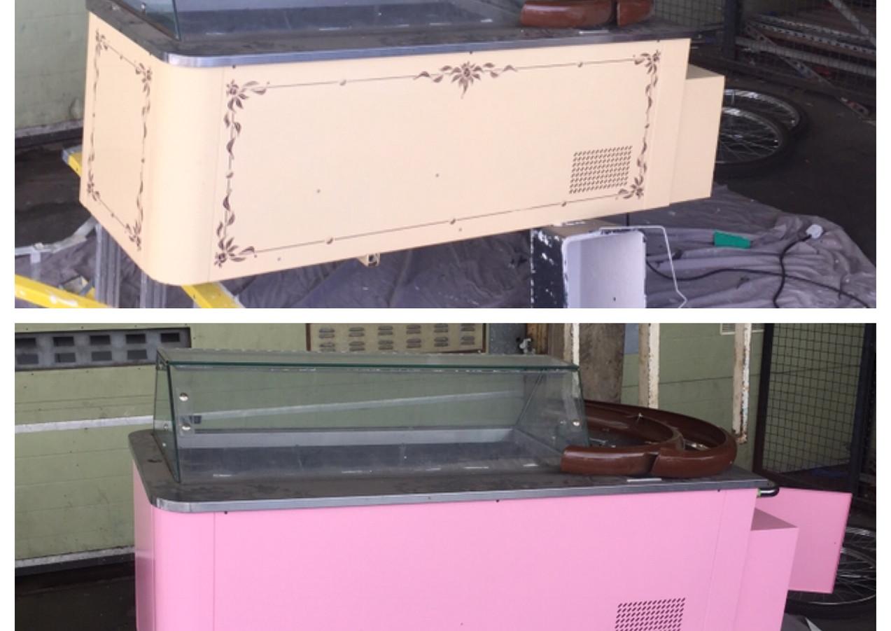 Ice cream fridge