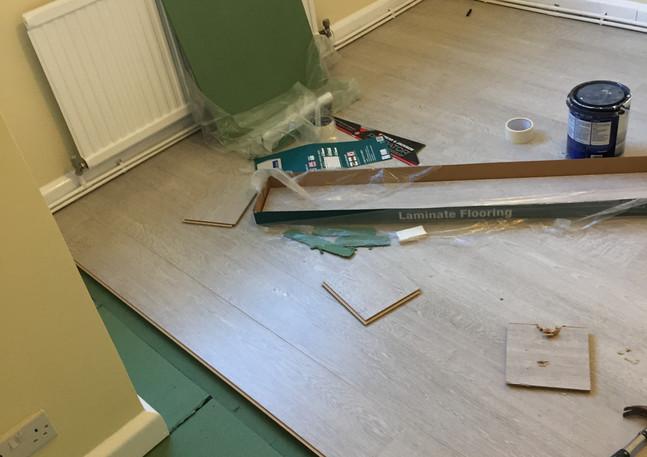 Laminate flooring in East London