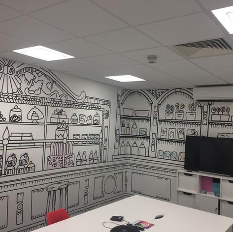 Designe wallpaper East London