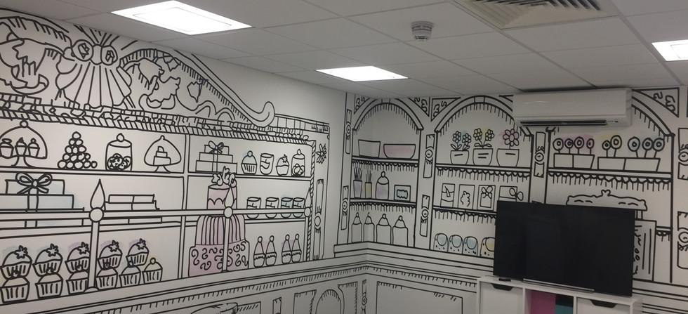 Designe wallpaper South London