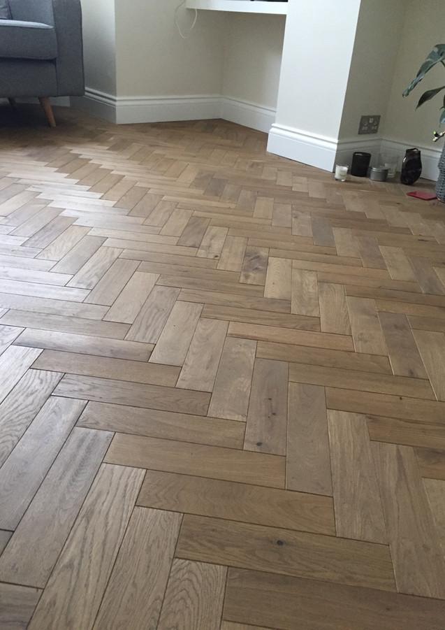 Wooden floor in East London