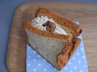 バニラシフォンケーキ+マロンクリーム
