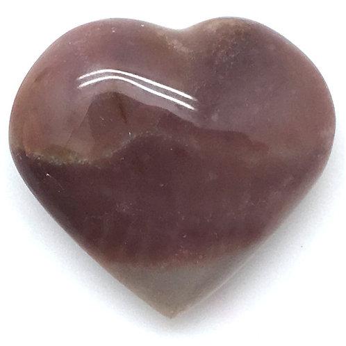 Polychrome Desert Jasper Heart • Madagascar • 25.9 grams ~ 37x35x17mm