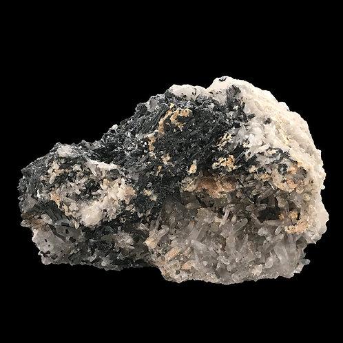 Tourmaline • Sphalerite • Quartz Pts •Brazil• 341.8 grams ~ 96x78x61mm