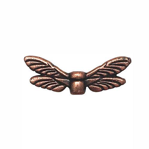 Dragonfly Wings Bead • 7x20mm • 94-5588-18 | SmokyMountainBeads.com