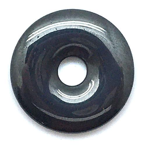 Hematite Donut • 24x4mm • 52100HMT-2404 | smokymountainbeads.com
