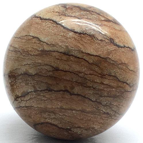 Picture Jasper Sphere • Brazil • 155.5 grams ~ 49.6mm