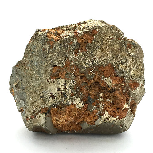 Cubic Pyrite with Sphalerite • Peru • 132.2 grams ~ 51x43x31mm