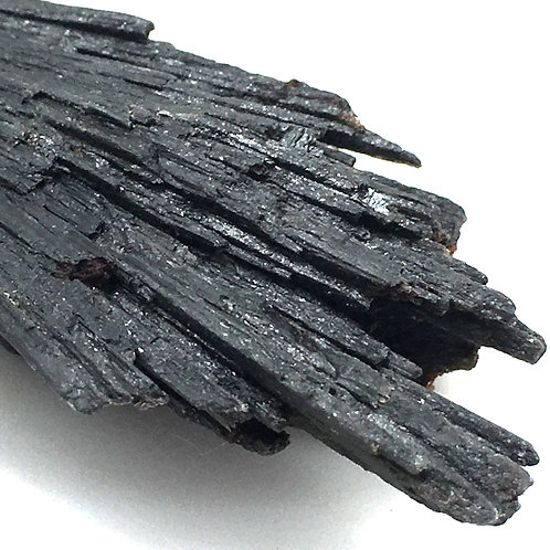 90100KYBBF Black Kyanite Fan 21.0 grams ~ 65x28x13mm