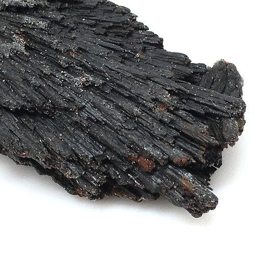 90100KYBBF Black Kyanite Fan 52.0 grams ~ 81x30x17mm