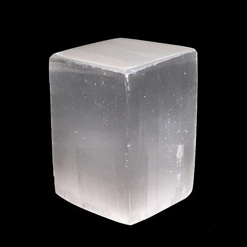 Polished Selenite Block • Africa • 122.4 grams ~ 50x34x33mm