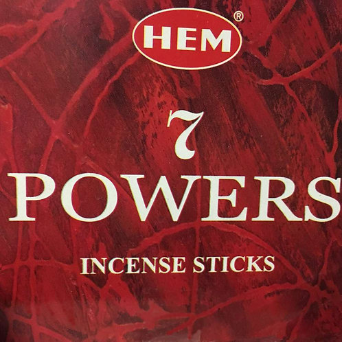 7 Powers Incense
