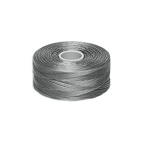 Gray • C-lon Nylon Thread | SmokyMountainBeads.com