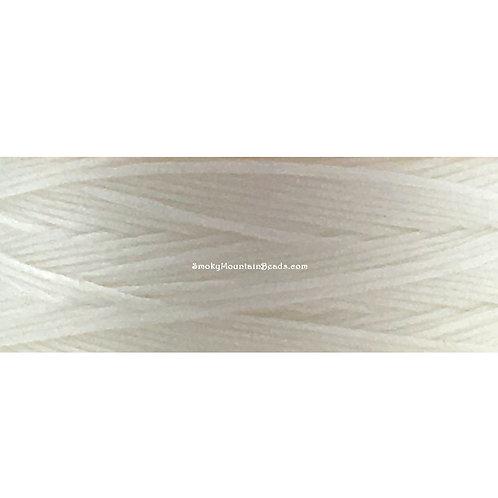 White • Nymo® Nylon Thread • Size D | SmokyMountainBeads.com
