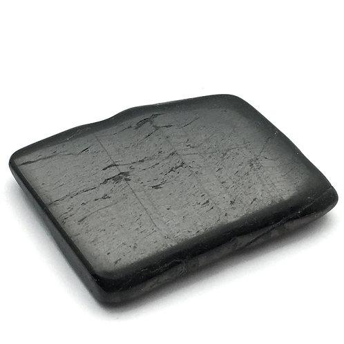 Hypersthene Polished Slab • Brazil • 32.5 grams ~ 48x36x8mm