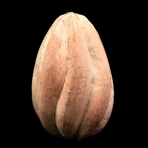 Kisii Stone Fluted Egg • Kenya • 309.8 grams ~ 87x55mm 69100KS-309-8