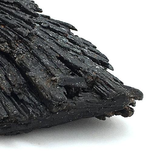 90100KYBBF Black Kyanite Fan 46.0 grams ~ 68x41x18mm