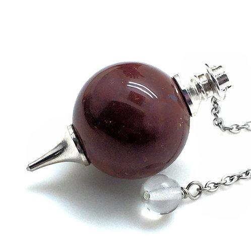 Fancy Jasper Pendulum • 21.4 grams ~ 43x23mm