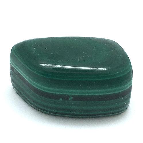 Malachite Hand-Polished • Congo • 18.0 grams ~ 27x17x13mm